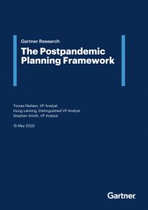 چارچوب برنامه ریزی پساکرونا ( گارتنر )