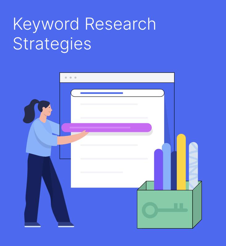 استراتژی جستجوی کلمات کلیدی